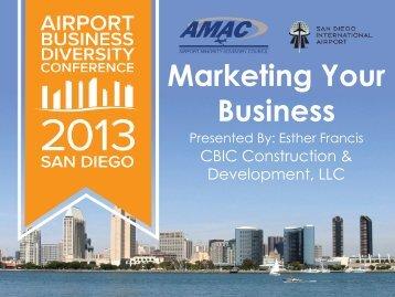 Marketing Your Business - AMAC