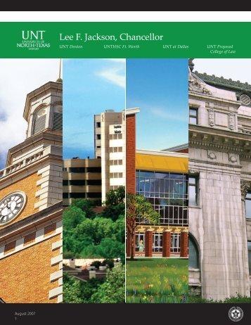 Rotary Club presentation - University of North Texas System