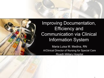 Improving Documentation, Efficiency and ... - RM Solutions