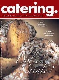 rivista della ristorazione e dei consumi fuori casa - Catering NEWS