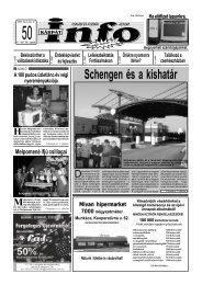 Schengen és a kishatár - Kárpátinfo.net