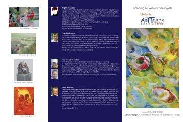 Einladung zur Wiedereröffnung der - Forum Kunst&Dialog