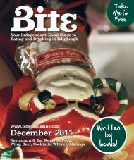 Download December 2011 - Bite Magazine