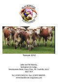 Newsletter No. 71 - Longhorn Cattle Society - Page 2