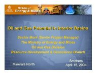 Oil and Gas Potential in Interior Basins - Minerals North