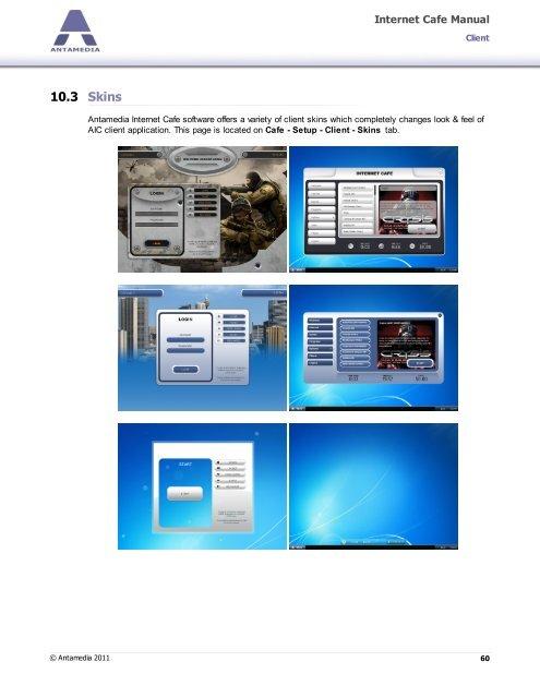 10 3 Skins Internet Cafe