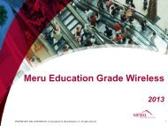 Meru: BYOD and Interrupted Learning - ASI Solutions
