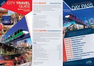 CITY Travel GuIDe - Metro Transport