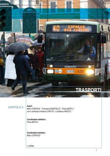 3. Trasporti - Annuario dei dati ambientali - Ispra