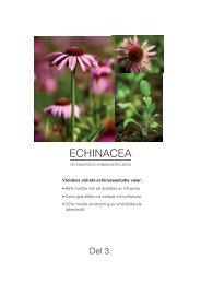 ECHINACEA - Scientific Communication AB
