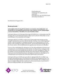 2011-08-29 Remissyttrande Aa KFO Föreskrifter om kemiska ...