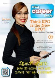 On The Cover - Career First Institute