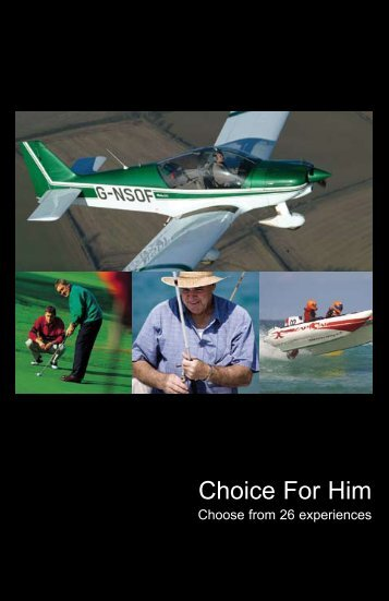 Choice For Him - Virgin Experience Days