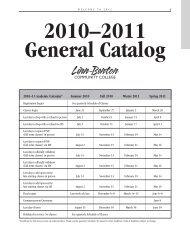 2010–2011 General Catalog - LBCC Paperless Office - Linn-Benton ...