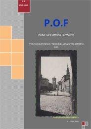 Piano dell'Offerta Formativa Istituto Fabriani - Comune di Spilamberto