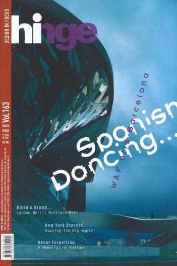 Hinge magazine vol.163 (PDF, 629 KB) - 3LHD architects