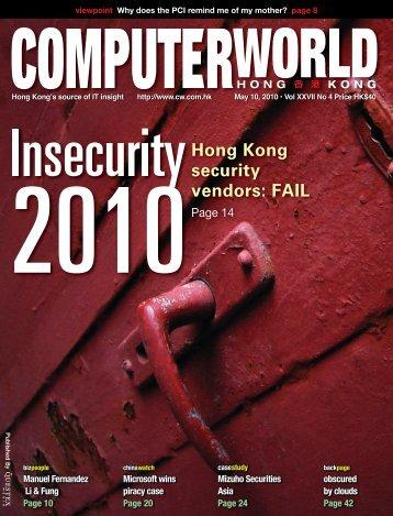 Hong Kong security vendors: FAIL - enterpriseinnovation.net
