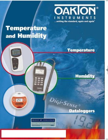 Thermohygrometers - Nova-Tech International, Inc