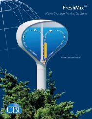 FreshMix™ Water Storage Mixing System - CB&I