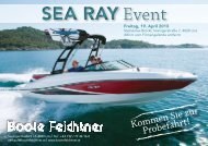 SEA RAY Event - Boote Feichtner