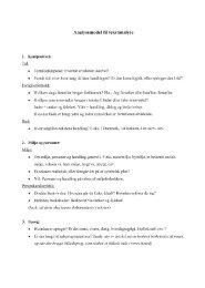 Analysemodel til tekster - Jan Thiemann