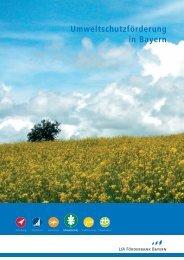 Umweltschutzförderung in Bayern - LfA Förderbank Bayern