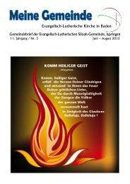 Heiliger Geist - Ev.-Luth. Siloah-Gemeinde Ispringen - Evangelisch ...