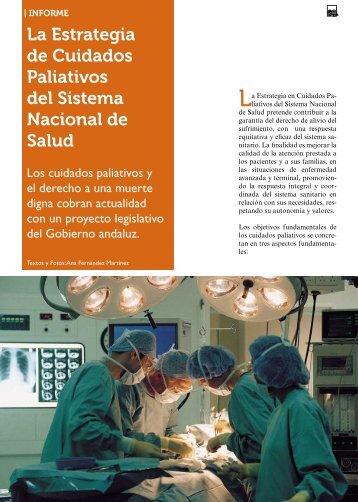 La Estrategia de Cuidados Paliativos del Sistema ... - Imserso
