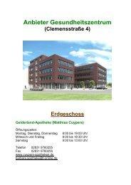 Anbieter Gesundheitszentrum - St.-Clemens-Hospital Geldern
