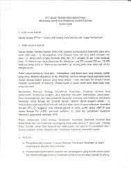 Petunjuk Teknis dan Alokasi Dekon 2009 - Direktorat Jenderal Bina ...