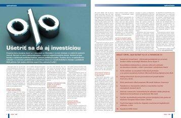 Čítať celý článok [PDF] - eFOCUS