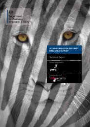 2013 Information Security Breaches Survey Technical Report - Gov.UK