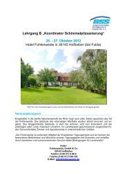 "Lehrgang B ""Koordinator Schimmelpilzsanierung"" - Bundesverband ..."