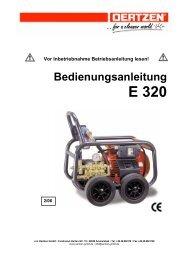 Bedienungsanleitung - von Oertzen GmbH