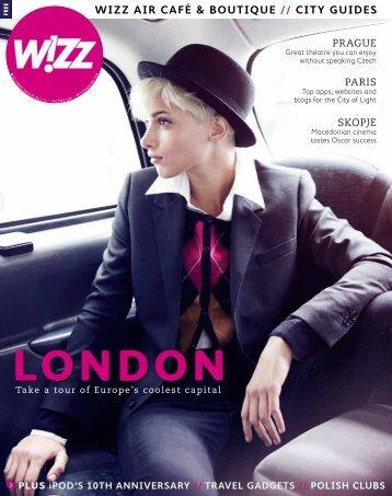 WiZZ air café & boutique // city guides