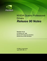 Release 90 Notes - Nvidia's Download site!!