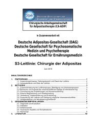 S3-Leitlinie: Chirurgie der Adipositas - Deutsche Adipositas ...