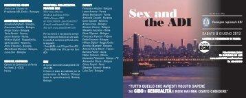 Programma Sex & The ADI - Vini e Sapori