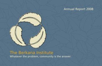 a Culture of Gifting - The Berkana Institute