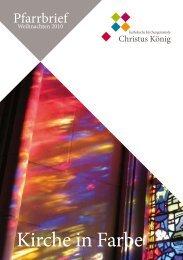 Kirche in Farbe - Kirchengemeine Christus König Porz