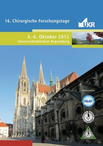 Chir. Forschungstage Programm A5 - Chirurgische ...