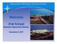 Part 1 - Metropolitan Washington Airports Authority