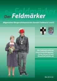 Der Feldmärker - Allgemeiner Bürgerschützenverein, Dorsten ...