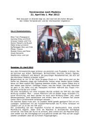 Vereinsreise nach Madeira 21. April bis 1. Mai 2012 - Naturfreunde ...
