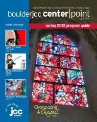 Spring 2012 - Boulder JCC