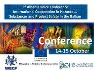 14-15 October - WECF