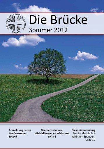 Gemeindebrief Sommer 2012 (PDF, 1.2 M) - Evangelische ...