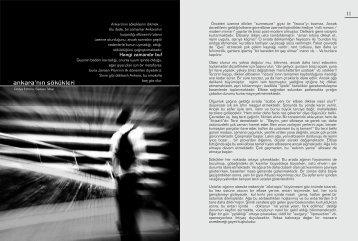Ankara'nın Sökükleri (.pdf) - Mimarlar Odası Ankara Şubesi