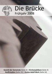 Gemeindebrief Fruehjahr 2008 (PDF, 1.0 M) - Evangelische ...