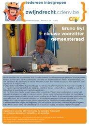 Bruno Byl nieuwe voorzitter gemeenteraad zwijndrecht - CD&V ...
